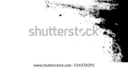 Splatter Paint Texture . Distress Grunge background . Scratch, Grain, Noise rectangle stamp . Black Spray Blot of Ink.Place illustration Over any Object to Create rough Grungy Effect .abstract vector.