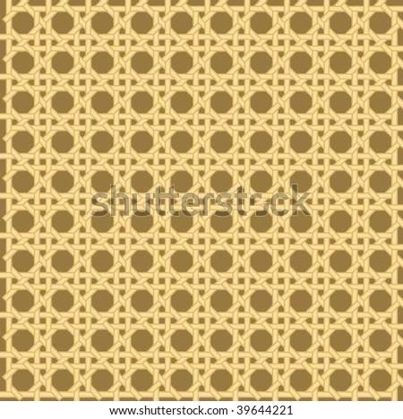 Spokes rattan textures - stock vector