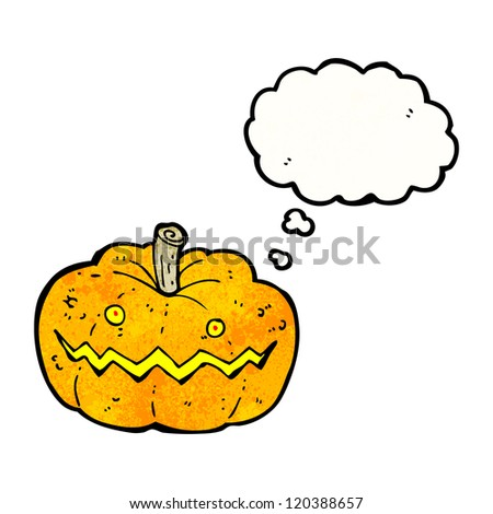 spooky cartoon pumpkin