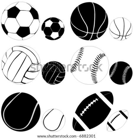 sport ball vector - stock vector