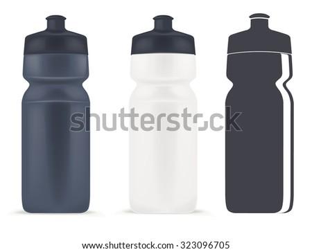 Sport bottle - stock vector