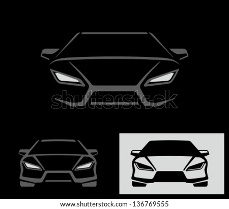 Sport car  - stock vector