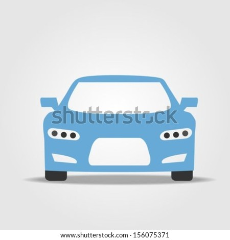 Sport car icon  - stock vector