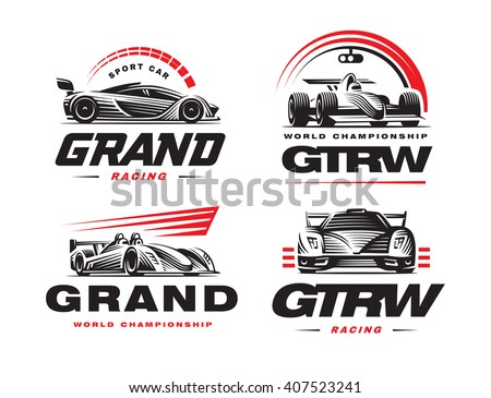 Racing Logo Stock Images, Royalty-Free Images & Vectors | Shutterstock