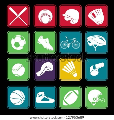 Sport Icon Basic - stock vector