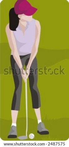 Sport illustrations series. Check my portfolio for much more of this series as well as thousands of similar and other great vector items. - stock vector