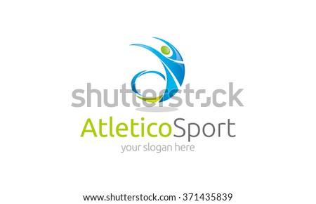 Sport Logo - stock vector