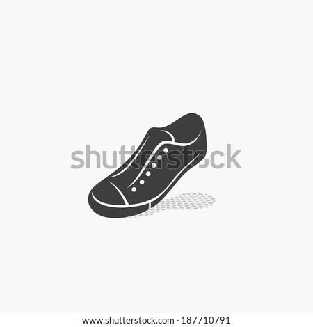 Sport shoe - vector illustration - stock vector