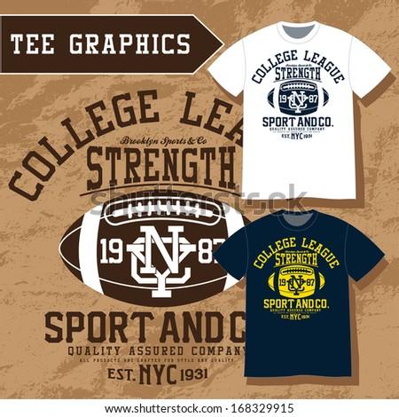 sport t-shirt - stock vector