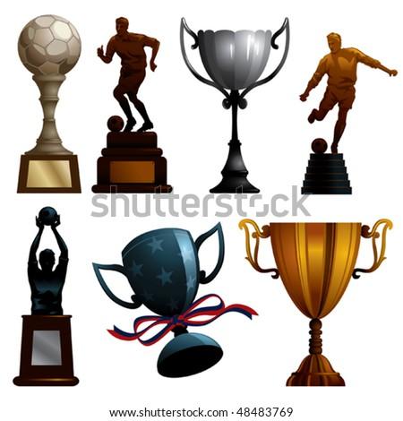 Sport Trophies - stock vector