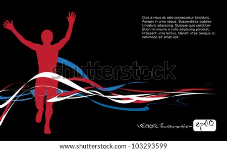 Sport vector illustration - stock vector