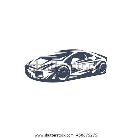 Sport Car Stock Vector Shutterstock