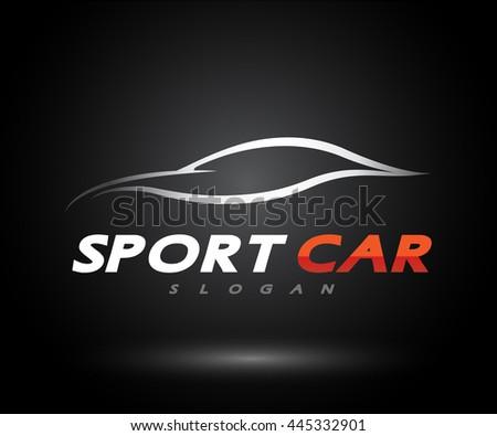 Sports Car Logo Company Modern Icon Stock Vector Hd Royalty Free