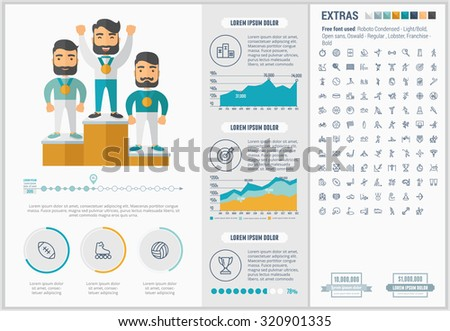 Stock images royalty free images vectors shutterstock for Sports infographics templates