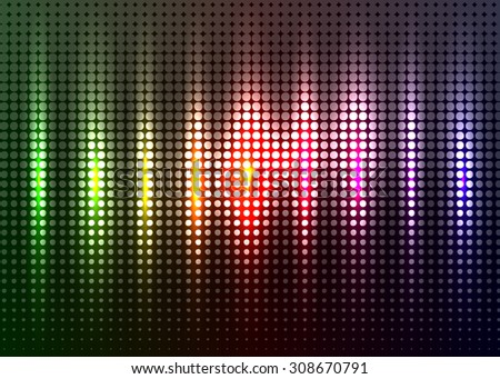 Spot vector abstract background