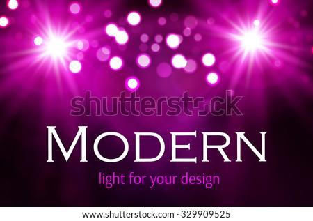 Spotlight Space. Shining light background. Club, Party & Best Offer Shining Design. Vector illustration  - stock vector