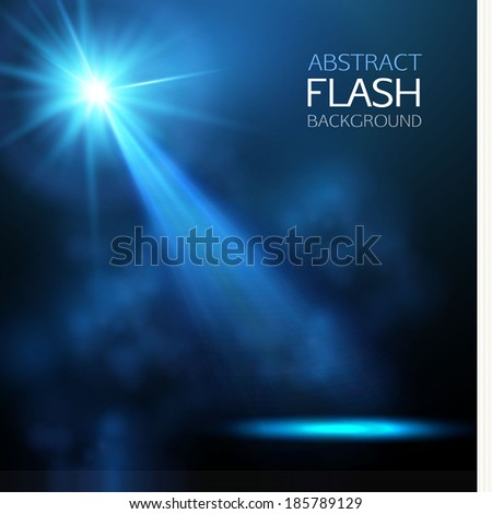 spotlight vector background - stock vector
