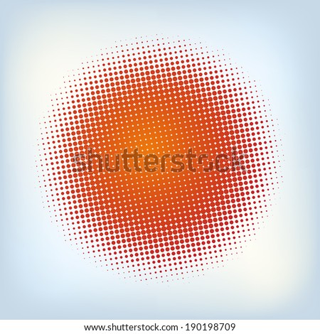 Spotted flash (design element). EPS 10 vector file included - stock vector
