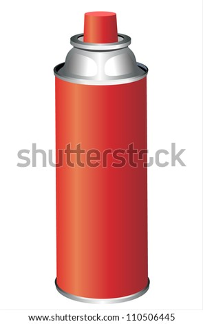 spray can isolated on white
