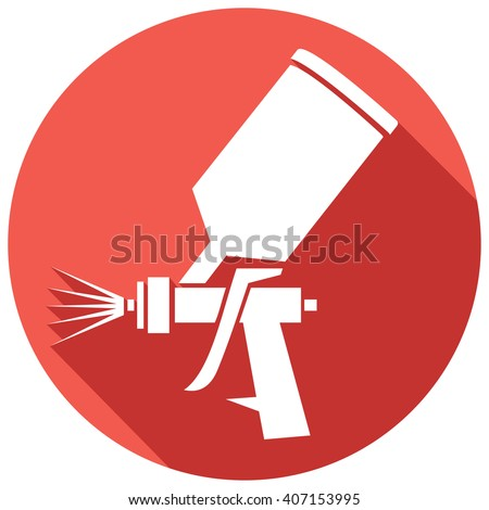 spray gun stock images royalty free images vectors shutterstock. Black Bedroom Furniture Sets. Home Design Ideas
