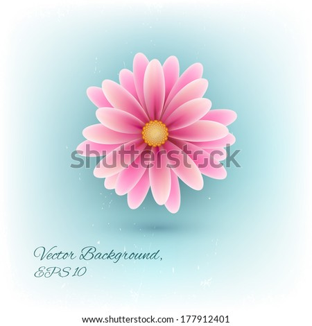 Spring flower - stock vector