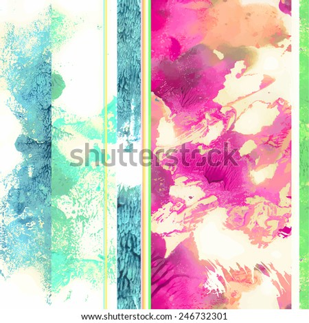 Spring light colors seamless pattern fpr textile printing - stock vector