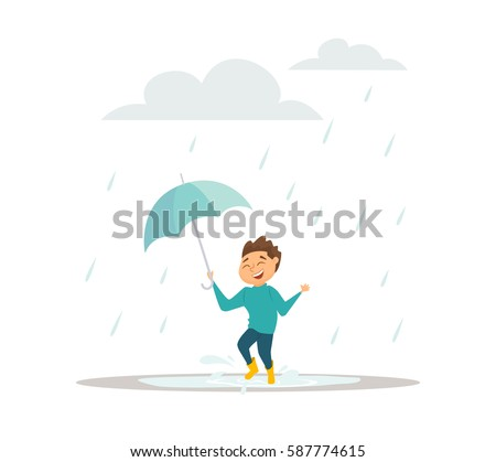 april showers bring may flowers design eps 10 vector
