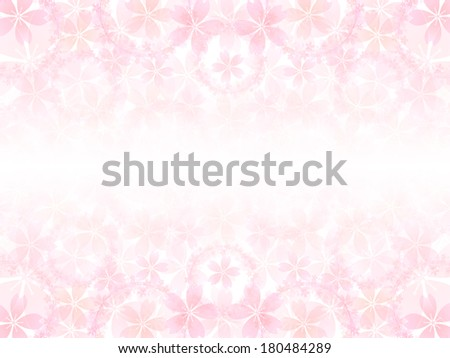 Spring tree background of cherry blossoms