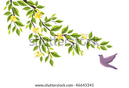 Springtime - stock vector