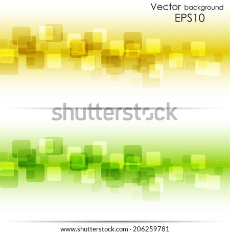 Square background - stock vector