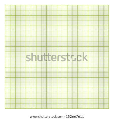 square graph paper vector background - stock vector