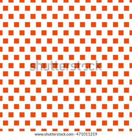 Square pattern. Seamless pattern with symmetric geometric ornament. Vector illustration.