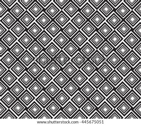 square spirals cross pattern