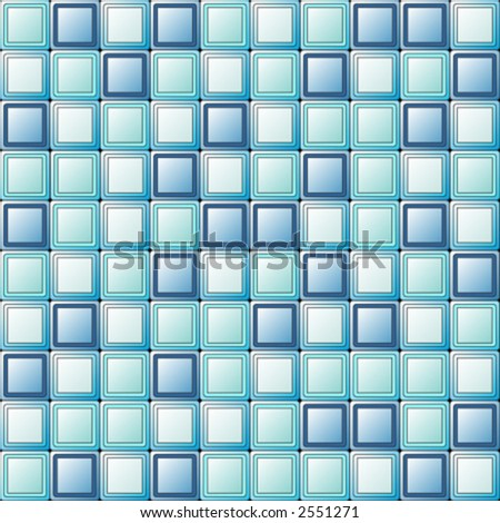 Square tiles with different colors