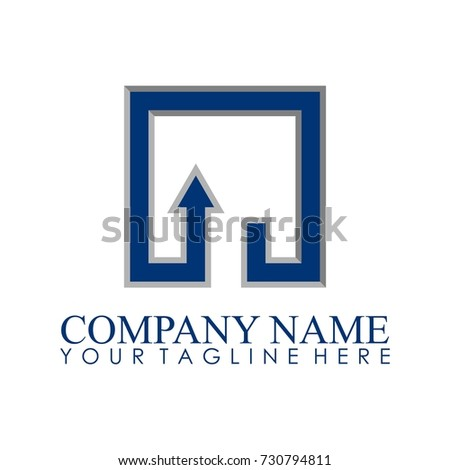Square Logo Vector Stock Vector 730794811 Shutterstock