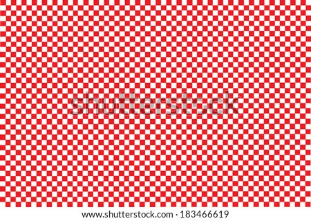 squares - red and white - EPS10 - stock vector