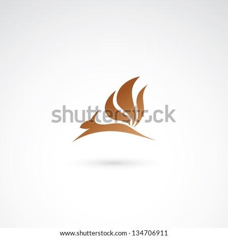 Squirrel - vector illustration - stock vector