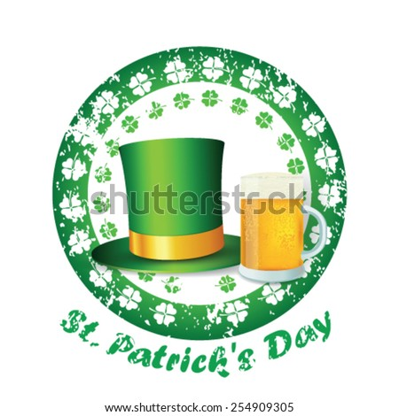 St. Patrick's day - stock vector