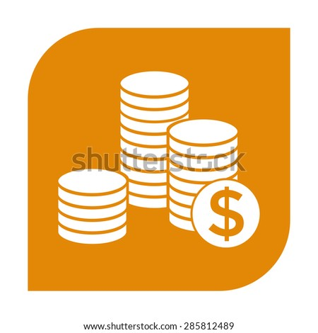 Stack of Coins Vector Stack of Coins Icon With