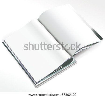 Stack of magazines - stock vector