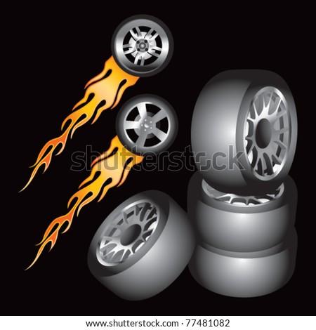 Burn, Baby, Burn: Tire Inferno |Flamming Tire