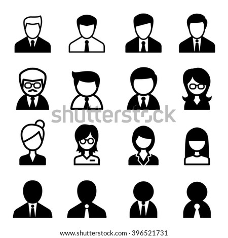 Staff icon - stock vector