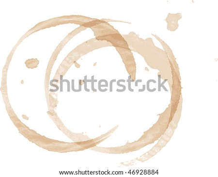 stains - stock vector