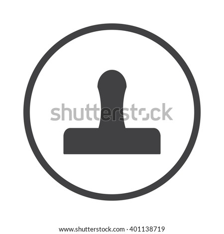 Stamp Icon JPG, Stamp Icon Graphic, Stamp Icon Picture, Stamp Icon EPS, Stamp Icon AI, Stamp Icon JPEG, Stamp Icon Art, Stamp Icon, Stamp Icon Vector, Stamp sign, Stamp symbol - stock vector