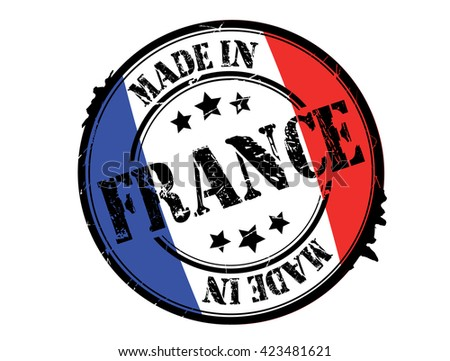 made in france stamp stock photos images pictures shutterstock. Black Bedroom Furniture Sets. Home Design Ideas