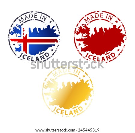 Stamp Made in Iceland