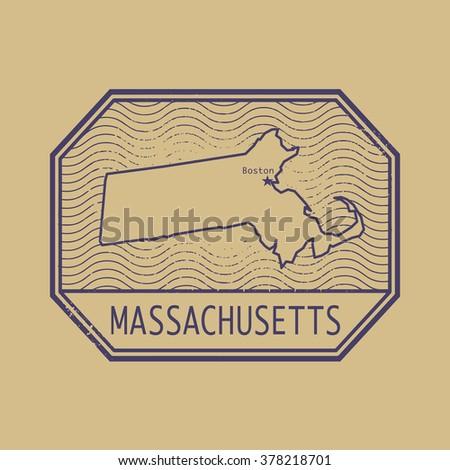 Old Boston Map Stock Images RoyaltyFree Images Vectors - Boston massachusetts us map