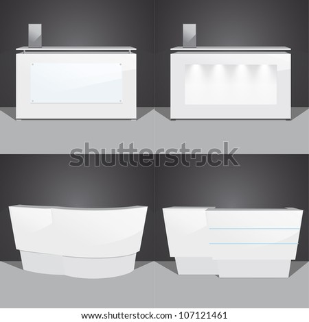 stand vector illustration - stock vector