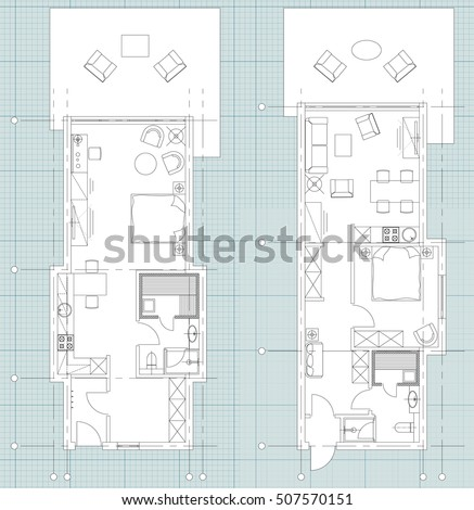 Office Floor Plan Stock Images Royalty Free Images Vectors