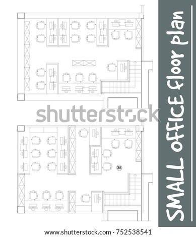 Standard furniture symbols used architecture plans stock vector standard office furniture symbols set used in architecture plans office planning icon set graphic malvernweather Choice Image